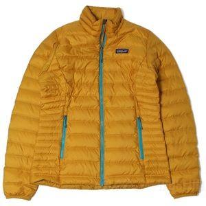ISO Patagonia mustard down jacket MEDIUM